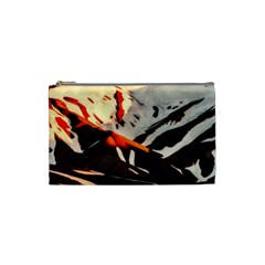 Iceland Landscape Mountains Snow Cosmetic Bag (small)