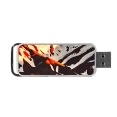 Iceland Landscape Mountains Snow Portable Usb Flash (two Sides)