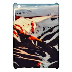 Iceland Landscape Mountains Snow Apple Ipad Mini Hardshell Case