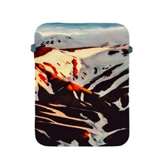 Iceland Landscape Mountains Snow Apple Ipad 2/3/4 Protective Soft Cases
