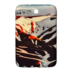 Iceland Landscape Mountains Snow Samsung Galaxy Note 8 0 N5100 Hardshell Case
