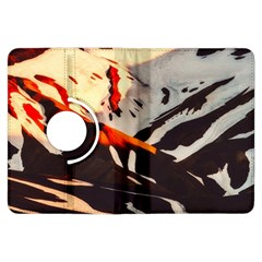 Iceland Landscape Mountains Snow Kindle Fire Hdx Flip 360 Case
