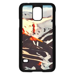 Iceland Landscape Mountains Snow Samsung Galaxy S5 Case (black)