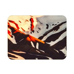Iceland Landscape Mountains Snow Double Sided Flano Blanket (mini)