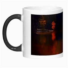 River Water Reflections Autumn Morph Mugs