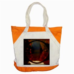 River Water Reflections Autumn Accent Tote Bag
