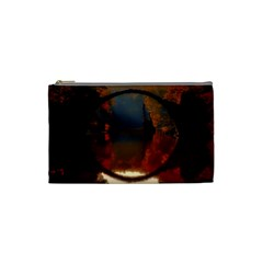 River Water Reflections Autumn Cosmetic Bag (small)