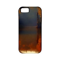 River Water Reflections Autumn Apple Iphone 5 Classic Hardshell Case (pc+silicone)