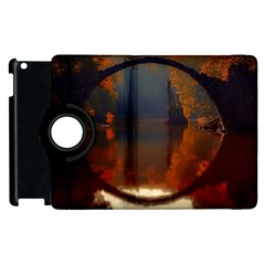 River Water Reflections Autumn Apple Ipad 2 Flip 360 Case