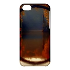 River Water Reflections Autumn Apple Iphone 5c Hardshell Case