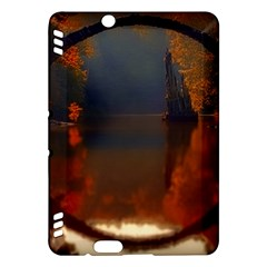River Water Reflections Autumn Kindle Fire Hdx Hardshell Case
