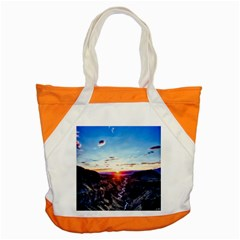Iceland Landscape Mountains Stream Accent Tote Bag