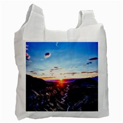 Iceland Landscape Mountains Stream Recycle Bag (two Side)