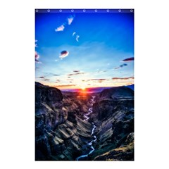 Iceland Landscape Mountains Stream Shower Curtain 48  X 72  (small)