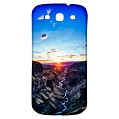 Iceland Landscape Mountains Stream Samsung Galaxy S3 S Iii Classic Hardshell Back Case