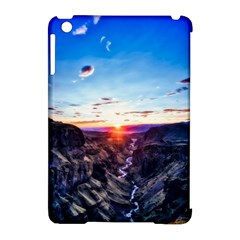 Iceland Landscape Mountains Stream Apple Ipad Mini Hardshell Case (compatible With Smart Cover)