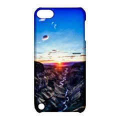 Iceland Landscape Mountains Stream Apple Ipod Touch 5 Hardshell Case With Stand