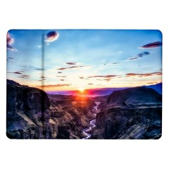 Iceland Landscape Mountains Stream Samsung Galaxy Tab 10 1  P7500 Flip Case