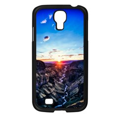 Iceland Landscape Mountains Stream Samsung Galaxy S4 I9500/ I9505 Case (black)