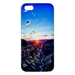 Iceland Landscape Mountains Stream Iphone 5s/ Se Premium Hardshell Case