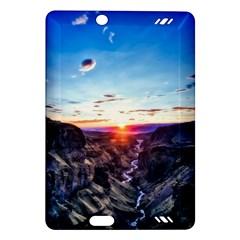 Iceland Landscape Mountains Stream Amazon Kindle Fire Hd (2013) Hardshell Case