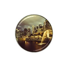 Singapore City Urban Skyline Hat Clip Ball Marker (10 Pack)