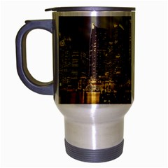 Singapore City Urban Skyline Travel Mug (silver Gray)