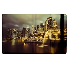 Singapore City Urban Skyline Apple Ipad 2 Flip Case