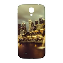 Singapore City Urban Skyline Samsung Galaxy S4 I9500/i9505  Hardshell Back Case