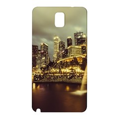 Singapore City Urban Skyline Samsung Galaxy Note 3 N9005 Hardshell Back Case