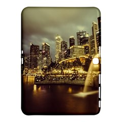 Singapore City Urban Skyline Samsung Galaxy Tab 4 (10 1 ) Hardshell Case