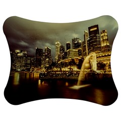Singapore City Urban Skyline Jigsaw Puzzle Photo Stand (bow)
