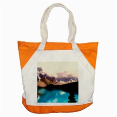 Austria Mountains Lake Water Accent Tote Bag