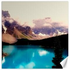 Austria Mountains Lake Water Canvas 12  X 12