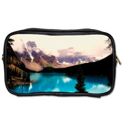 Austria Mountains Lake Water Toiletries Bags 2 Side