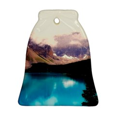 Austria Mountains Lake Water Bell Ornament (two Sides)