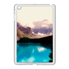 Austria Mountains Lake Water Apple Ipad Mini Case (white)