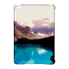 Austria Mountains Lake Water Apple Ipad Mini Hardshell Case (compatible With Smart Cover)