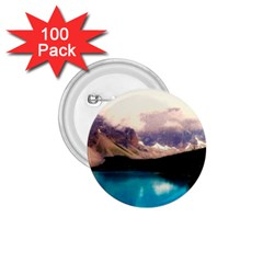 Austria Mountains Lake Water 1 75  Buttons (100 Pack)