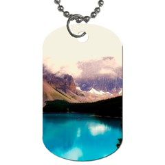 Austria Mountains Lake Water Dog Tag (one Side)