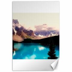Austria Mountains Lake Water Canvas 20  X 30