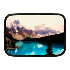 Austria Mountains Lake Water Netbook Case (medium)