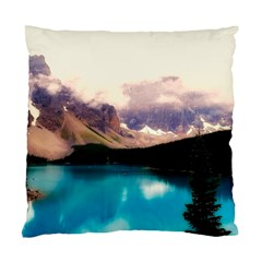 Austria Mountains Lake Water Standard Cushion Case (two Sides)