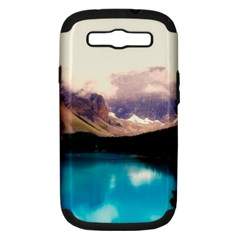 Austria Mountains Lake Water Samsung Galaxy S Iii Hardshell Case (pc+silicone)