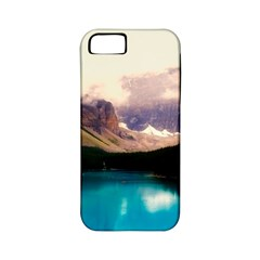 Austria Mountains Lake Water Apple Iphone 5 Classic Hardshell Case (pc+silicone)