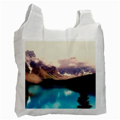 Austria Mountains Lake Water Recycle Bag (one Side)