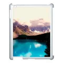 Austria Mountains Lake Water Apple Ipad 3/4 Case (white)