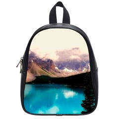 Austria Mountains Lake Water School Bag (small)