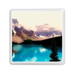 Austria Mountains Lake Water Memory Card Reader (square)