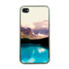 Austria Mountains Lake Water Apple Iphone 4 Case (clear)